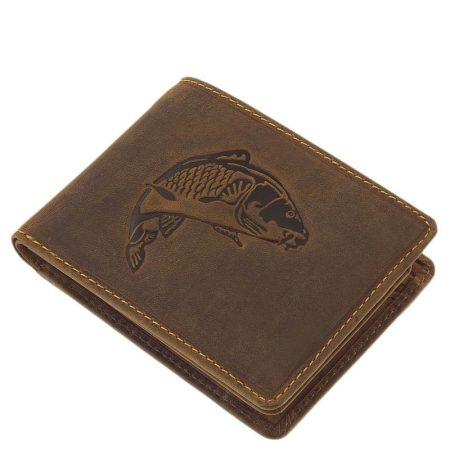 Horgász pénztárca ponty mintával
