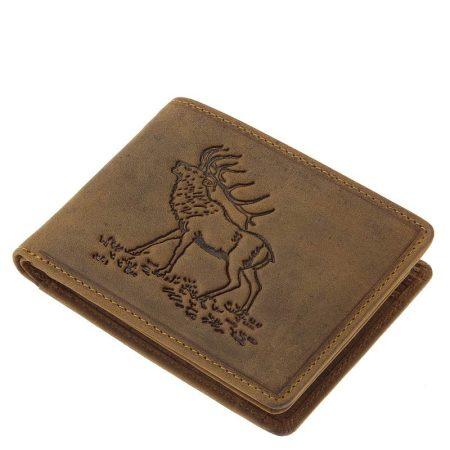 Vadász pénztárca gímszarvas mintával