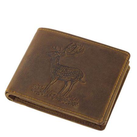 Vadász pénztárca dámszarvas mintával