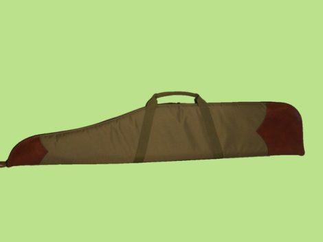 Szivacsos fegyvertok műbőr díszítéssel sörétes puska számára