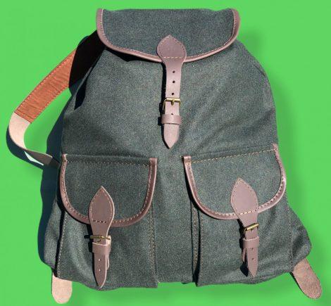 Lóden hátizsák, 2 zsebes