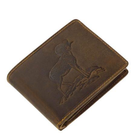 Vadász pénztárca muflon mintával